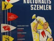 Úttörő kulturális szemle plakát