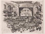 Zádor István (1882-1963): A Tanácsok országos gyűlése a városi színházban 1919. június 14.