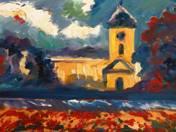Ókígyósi református templom