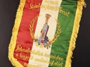 Borsodi Szénbányászati Tröszt zászlaja