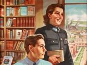 Ifjak, lányok! olvassátok a jó könyveket Jöjjetek a könyvtárakba!