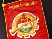 Munkásőrség Komárom zászló