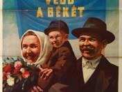 Védd a békét! Szavazz a Hazafias Népfront jelöltjére! Plakát