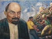 Lenin és az élmunkások