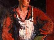 Öntő portré
