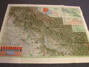 Kárpátalja térképe, 3. kiadás, 1942. május 1-i határok.