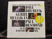 Dave Brubeck, Gerry Mulligan, Paul Desmonds - We're All Together Again For The Firs Time