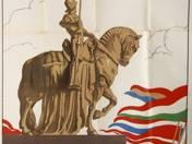 A Nemzeti áldozatkészség szobra (plakát)