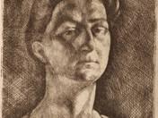 Női portré - próbanyomat