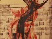 Széttárt karu férfi, 1949