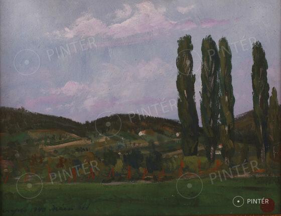 Aukció a Vaszary Villában 2014 - Balaton, nyár, szerelem... — Festmények és szobrok 3.