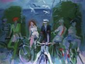 Biciklis leányok, 2009