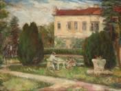 Szigligeti művészház parkja