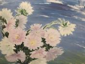 Virágcsendélet őszirózsákkal