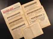 1956-os újságok (8 db)