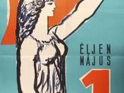 Május 1 plakát