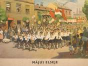 Május elseje plakát