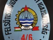 Felsőtiszavidéki Vízügyi Igazgatóság Csatornaőrjárás címer