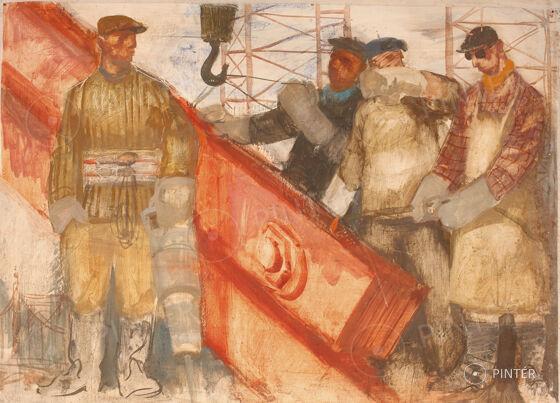 SOHA TÖBBET! HARMADSZOR- Hetedszer - ÉLŐ AUKCIÓ — Festmény
