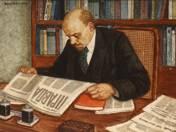 Lenin Pravdát olvas (1977)