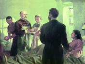 Túry Mária: Alaktanúlmány a Semmelweis nagyképhez, 1953 (Semmelweis Ignác)