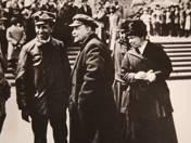 Lenin, Krupszája, MI Iljanova és Szamuelly Tibor