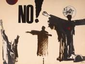 NO! (Atomháború ellenes kollázs)