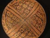 Perzsa tál geometrikus mintával