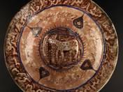 Perzsa provinciális tál