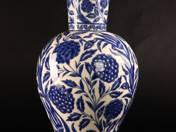 Zsolnay váza izniki dekorral