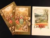 Három darab postatiszta képeslap
