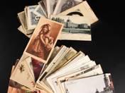 115 db vegyes képeslap város és üdvözlőlapokkal