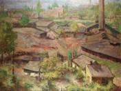 Pestlőrinci téglagyár látképe