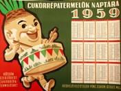 Cukorrépatermelők naptára poszter