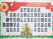 A BM karhatalom hősi halottjai 1956-57 tabló