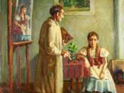 Festő és modellje (1953)