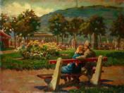 Nyári vasárnap a Vigadó térnél (1953)