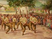 Táncoló honvédek