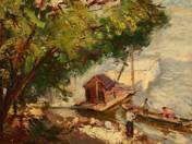 Horgász kunyhó