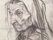 Ismeretlen: Öreg hölgy portréja