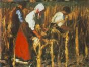 Koszta József: Kukoricatörők