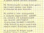 1956 c. vers autográf tintaírású kézirata