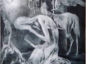 F. Villon illusztráció, Szép fegyverkovácsné panasza az elmúlásról