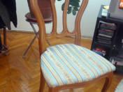 1 db támlás szék