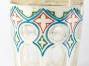 Biedermeier üvegpohár