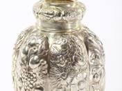 Augsburgi antik ezüst teafűtartó