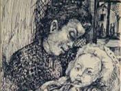 Anya gyermekével (1934)