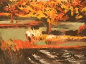 Chestnut Trees in Fall (2002)