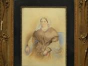 Biedermeier női portré