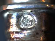 Bécsi antik ezüst kések 6 db